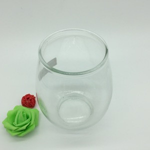 Dinosaur egg shape glass jar container for food storage pickle/sauces/snacks/biscuit/scented tea