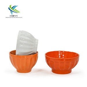 Food grade baby use colorful noodles ceramic bowls