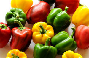 Fresh Bell pepper color capsicums for sale