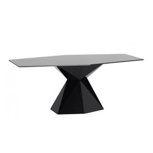 Glass fiber dining table for restaurant architech design furniture