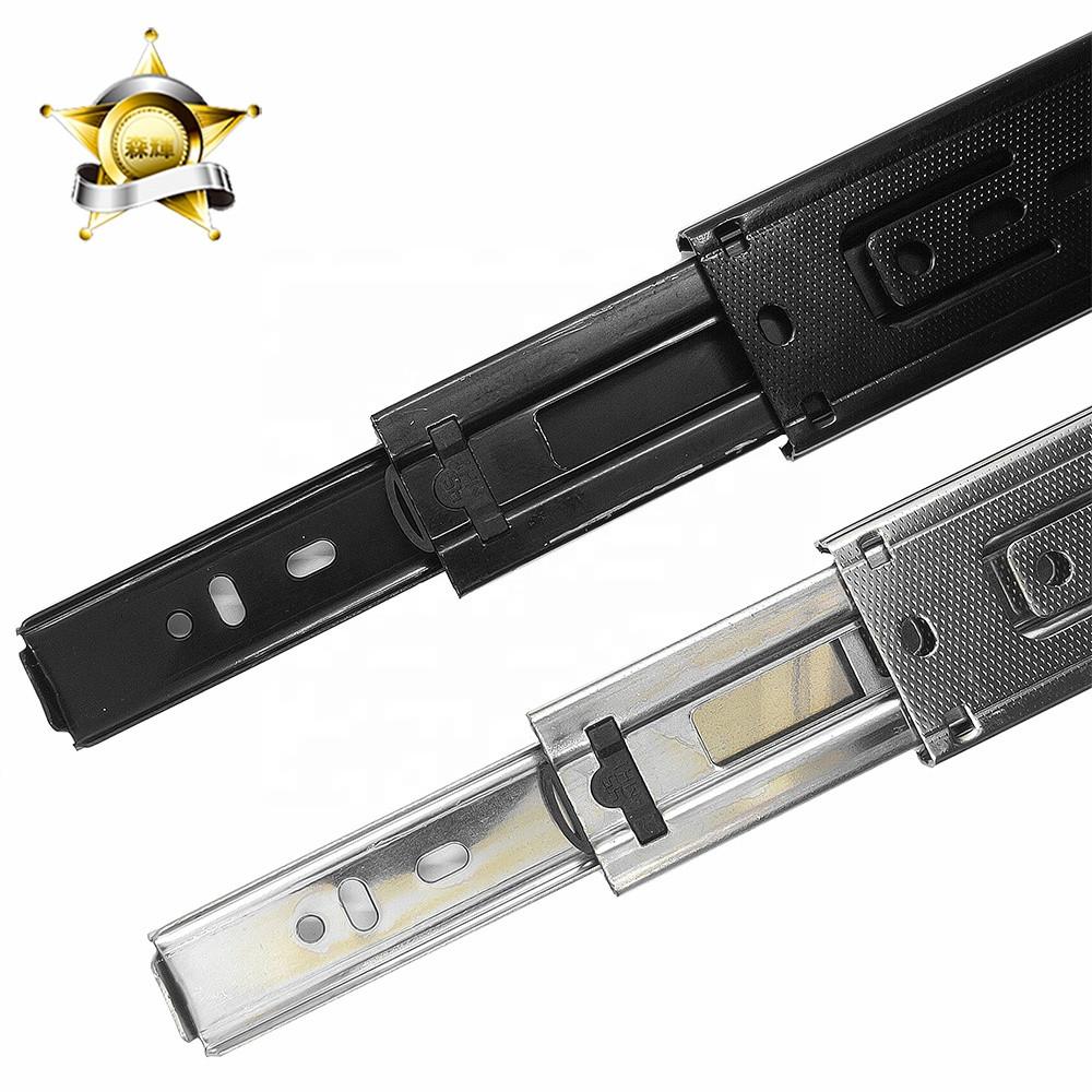 Heavy duty cabinet drawer slides 3-fold full extension drawer slides