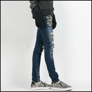 High Quality Brand Wholesale Damaged Men Ripped Jeans