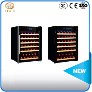 Hot sale new horizontal wine refrigerator