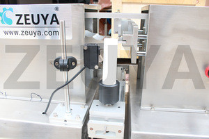 Hot sale semi-automatic ultrasonic plastic tube sealer sealing machine with date and batch table-top zeuya
