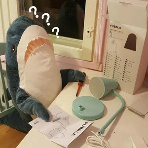 Hot selling Big Shark Doll Plush Soft Toy Doll Sleeping Pillow Bed Stuffed Animals Xmas GIft