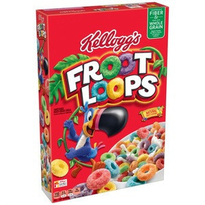 Kelloggs Kelloggs froot loops 375g(Breakfast Cereals,Baby cereals)  frosted
