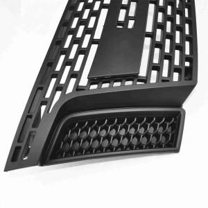 LED Front Grille Matte Black T6 Car Grille For Ford Ranger T6 Auto Parts 2012-2014 Auto 4X4 Accessories