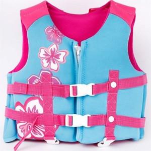 Life jacket vest  jacket children swim motorcycle meter straight  inflatable latex suit  airbag  marine fishing swim navy  kayak