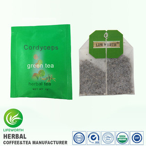 Lifeworth wholesale original import cordyceps instant green tea for health care