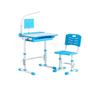 Lifting Children Study Table Kids study desk with Angle adjustable worktop study table children home furniture