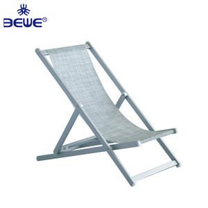Lightweight Aluminium Foldable Sea Fabric Beach Chair