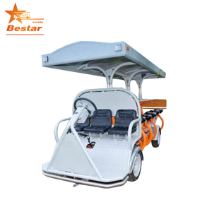 Modern electric sightseeing beer car shuttle bus party bike