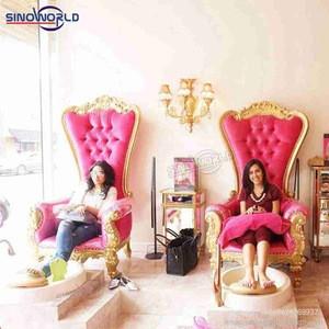 Modern luxury beauty spa salon manicure pipeless pedicure chair taiwan