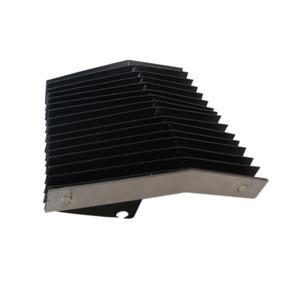 Nylon accordion rubber bellows CNC retractable machine protective shield