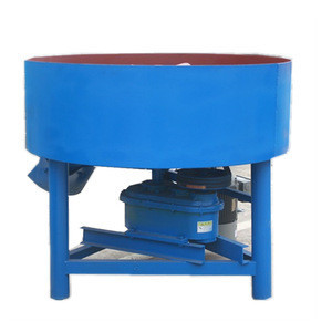 Pan type concrete mixer pan mixer forced action mixer