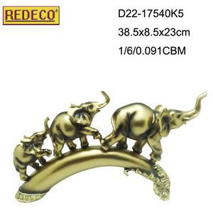 Popular design home decorative polyresin elephant statue