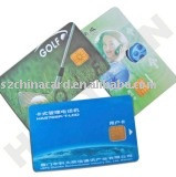 Printed PVC Contact SLE5528 SLE4428 Smart IC Card