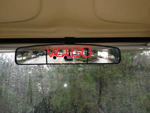 Rear View Mirror Golf Cart Wide Panoramic Rear View Mirror for EZGO Club Car YMH Golf Carts