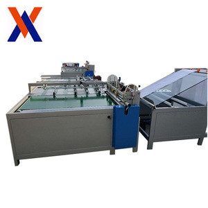Rice bag sewing and printing machine PLC control system