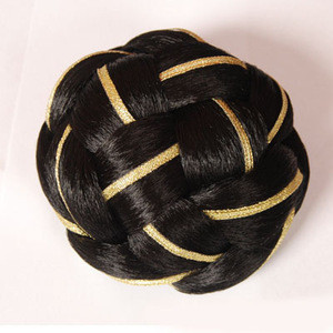 Roller hair bun ring  synthetic hair  wholesale hair attachment Chignon