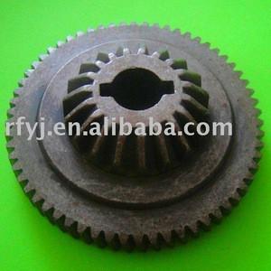 Steel transmission gear