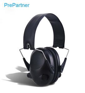 Tactical army military earphone sound proof headband earmuff Ear Protector Active Intelligent Ear Muff