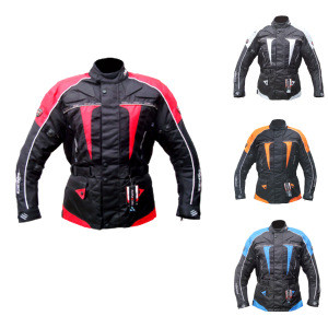 Textile Men Motorcycle Waterproof Riding Jacket ( Stock Available In USA)