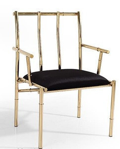 Top quality stainless steel legs industrial chair made in China
