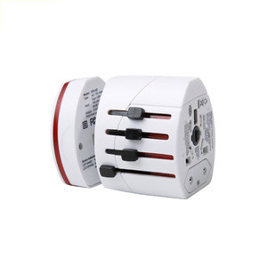 Travelsky Custom International All in One USB universal travel adapter