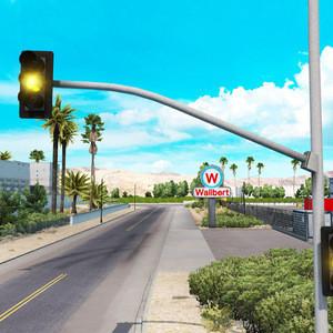 Tricolor Traffic Safety Light LED Traffic Light Signal