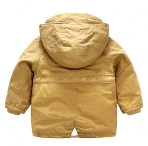 Wholesale wholesale 100%cotton children's boutique clothing for kids winter jacket coat