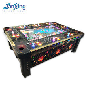 Yuehua software igs ocean king 3 igs game machine cabinet with igs cables