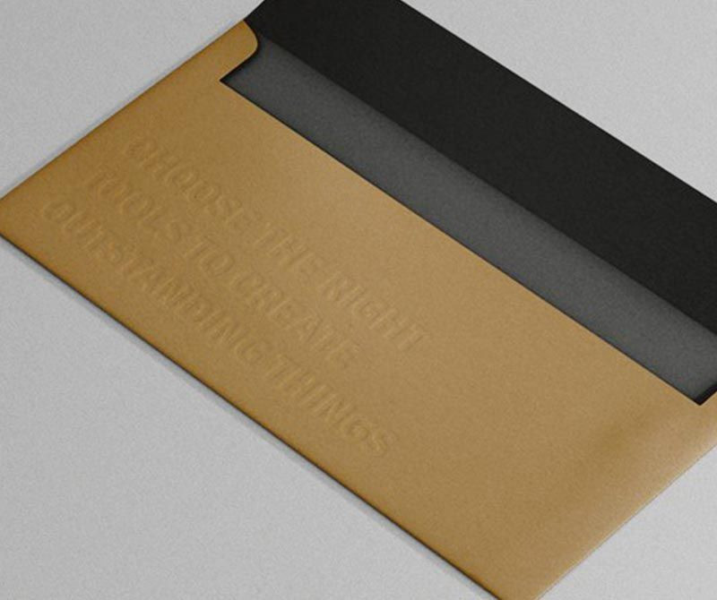 Business and Gift Envelope Custom Bespoke Printing