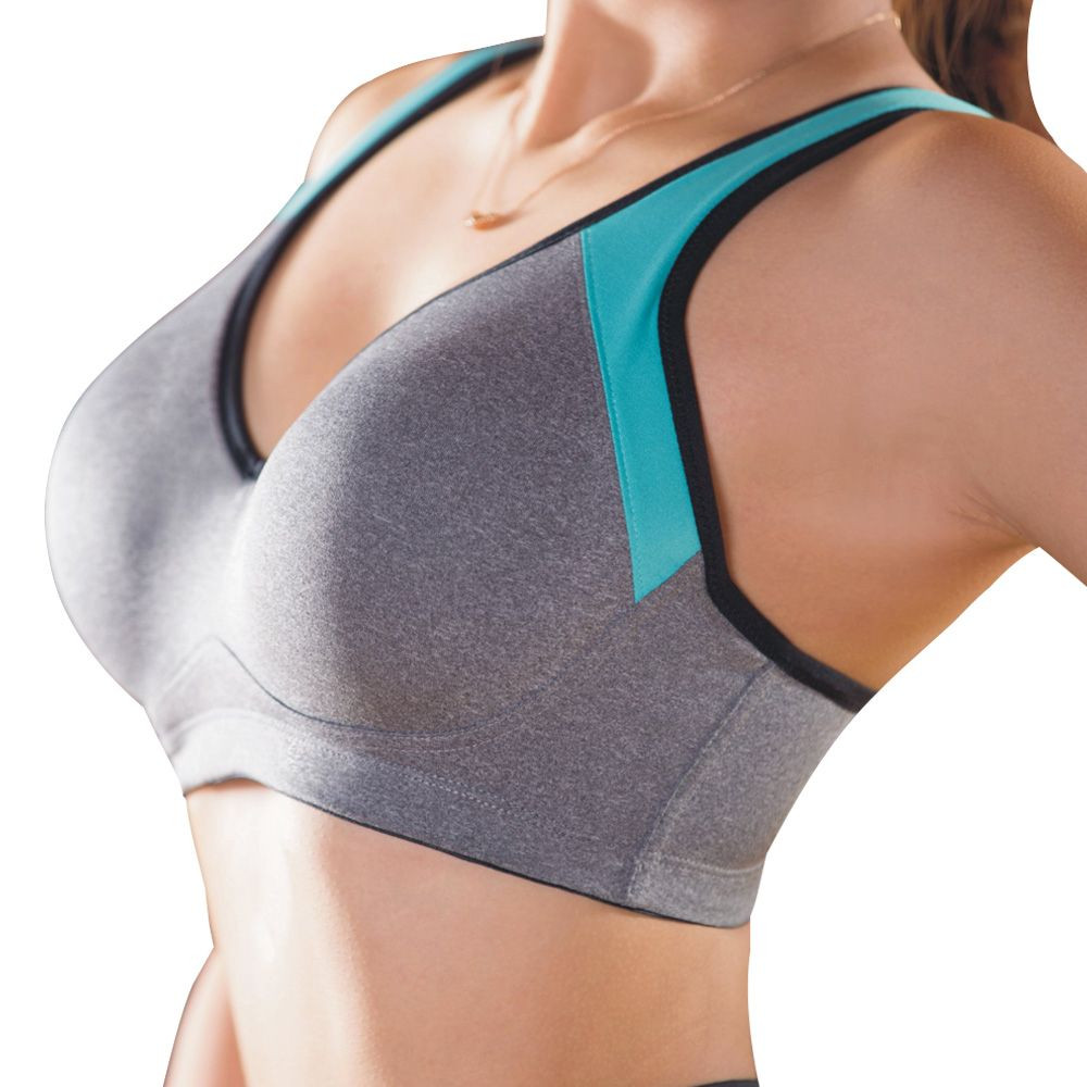 Cross Back High Support Yoga Sports Bra