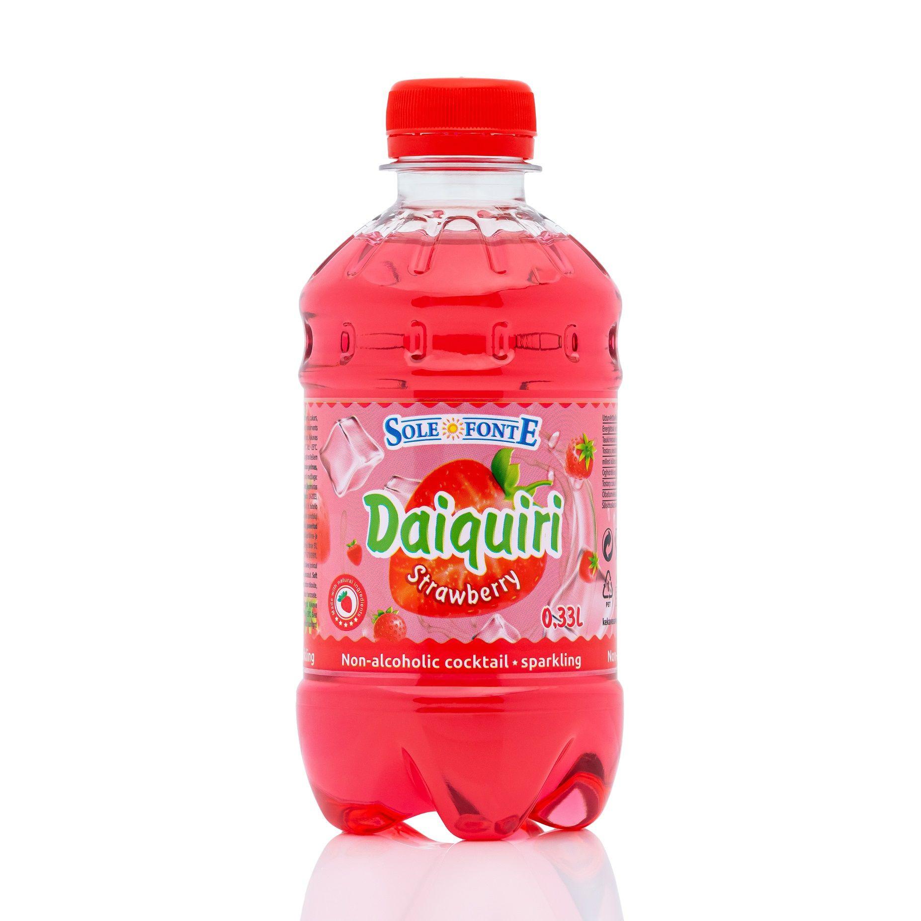 SOFT DRINK Strawberry Daiquiri 0.33L sparkling PET