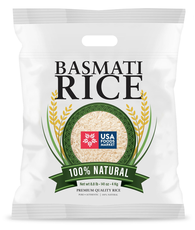 Premium Quality Basmati Rice - 4 Kg