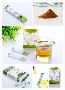 100% Natural Iced Green Tea Peppermint Extract Powder For Sore Throat