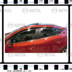 2014 For MAZDA 3 4D/5D Car Windows Visor, Wind deflector Auto Body Kits