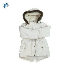 2018 Top Sale Warm Cotton Twill Girl Baby Jacket