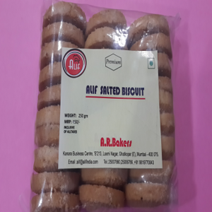 Alif Salted Biscuit
