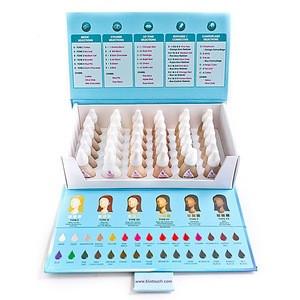 BioTouch Permanent Makeup 36 Bottles CAMOUFLAGE SET Pure Pigments [6 Different Colors]