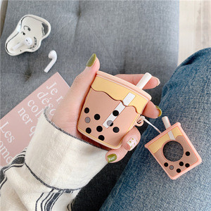Cup shape  comfortable hand feeling silicone customized anti scratch protective cover for airpod