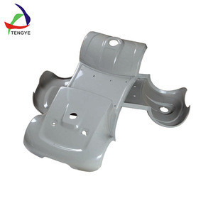 Custom vacuum forming plastic bus seat body parts