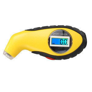 Digital 5.0-100 PSI Tire TyreTester Manometer Barometers Tool  KPA BAR Air Pressure Gauge