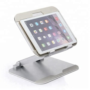 Foldable aluminum notebook tablet pc adjustable laptop stand