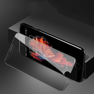 For iphone 6 7 8 x xs max screen protector 9h tempered glass 2 pack, 3 pack clear glass film for iphone x screen protector