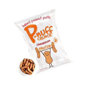 Good Source Of Fiber Pnuff Crunch Baked Peanut Puff -Cinnamon