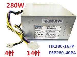 HK380-16FP FSP280-40PA 280W desktop PC Power supply for Huntkey