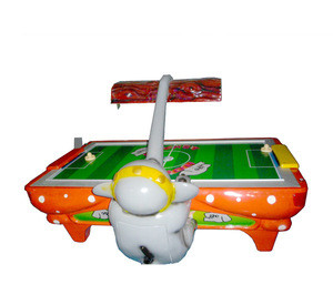 Kids coin operated air hockey game table