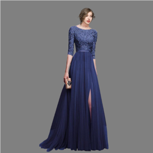 Lx20313a 2018 hot sale elegant women evening dresses formal maxi dress ladies chiffon dinner dresses